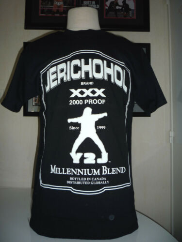 S,M,L,XL,XXL ALL SIZE T-SHIRT CATCH WWE CHRIS JERICHO Y2J TAILLE
