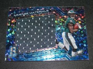 online store 08024 88b8c 2016 Panini Spectra NELSON AGHOLOR #21 Worn Jersey Neon Blue ...