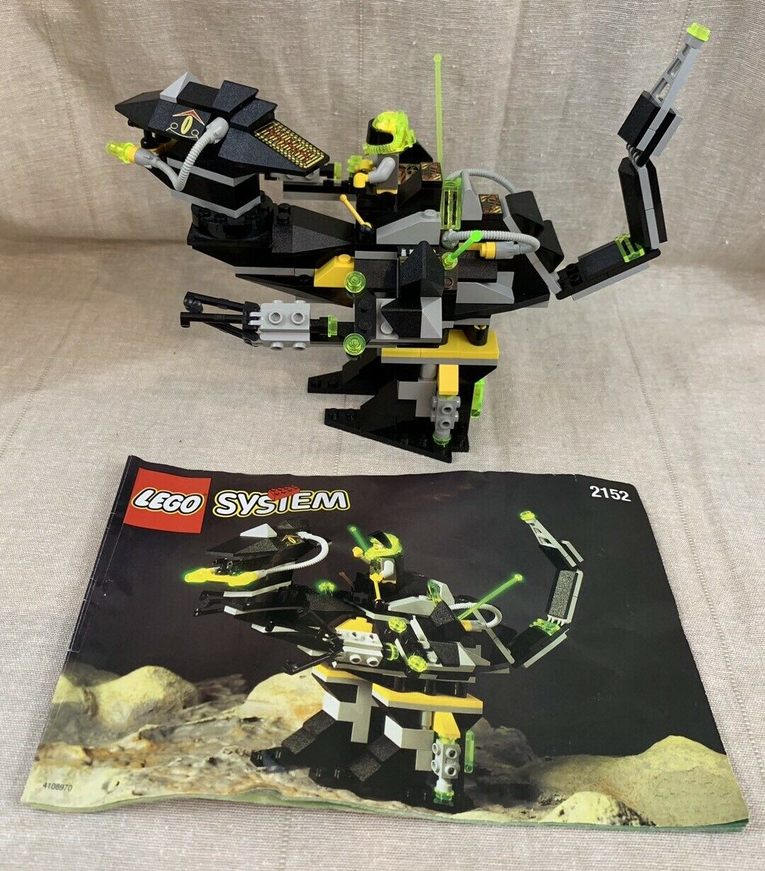 Lego System System System 2152 Classic Space Robo Raptor Master Roboforce Complete - No Box a3b208