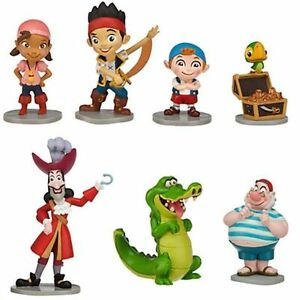 Disney-Jake-and-the-Never-Land-Pirates-Figure-play-set-Cake-Topper-7-pc-Birthday