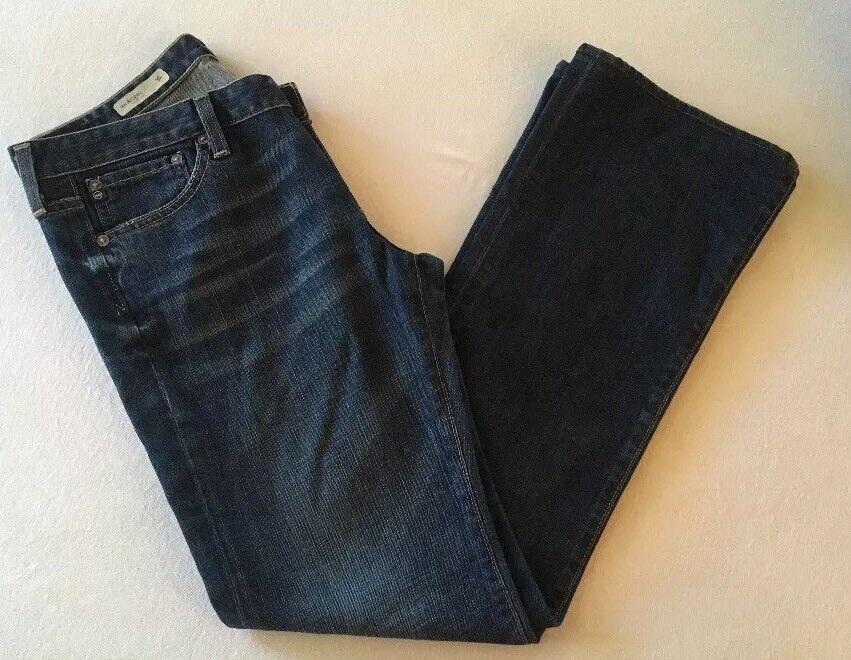 AG Adriano goldschmied Womens 28 R 30 L  The ANGEL Boot Cut Denim StretchyJeans