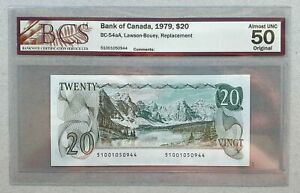 1979-BANK-OF-CANADA-20-Lawson-amp-Bouey-Replacement-034-510-034-BCS-AU-50-BC-54aA