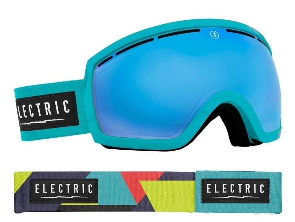 NEW Electric EG2.5 Beach Beach EG2.5 Blau Mirror  Herren Asian Fit ski snowboard goggles Rt140 56315e