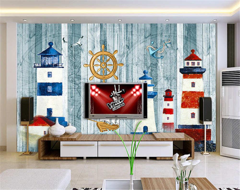 Happy Vague Festive 3D Full Wall Mural Photo Wallpaper Printing Home Kids Decor