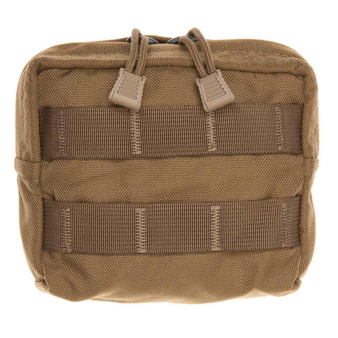 Tac Shield Compact Molle Gear Pouch Coyote Brown USA Made