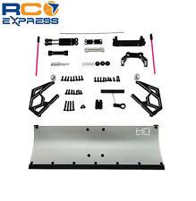 Hot Racing Axial SCX10 II 2 Silver Aluminum Snow Plow Blade SCX1213P08