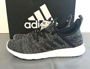 adidas Women's Cloudfoam Pure Running Shoes DB0694 PICK SIZE Black Gray - 1E_02