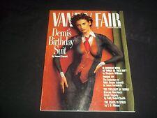 1992 AUGUST VANITY FAIR FASHION MAGAZINE - DEMI MOORE COVER - J 1104