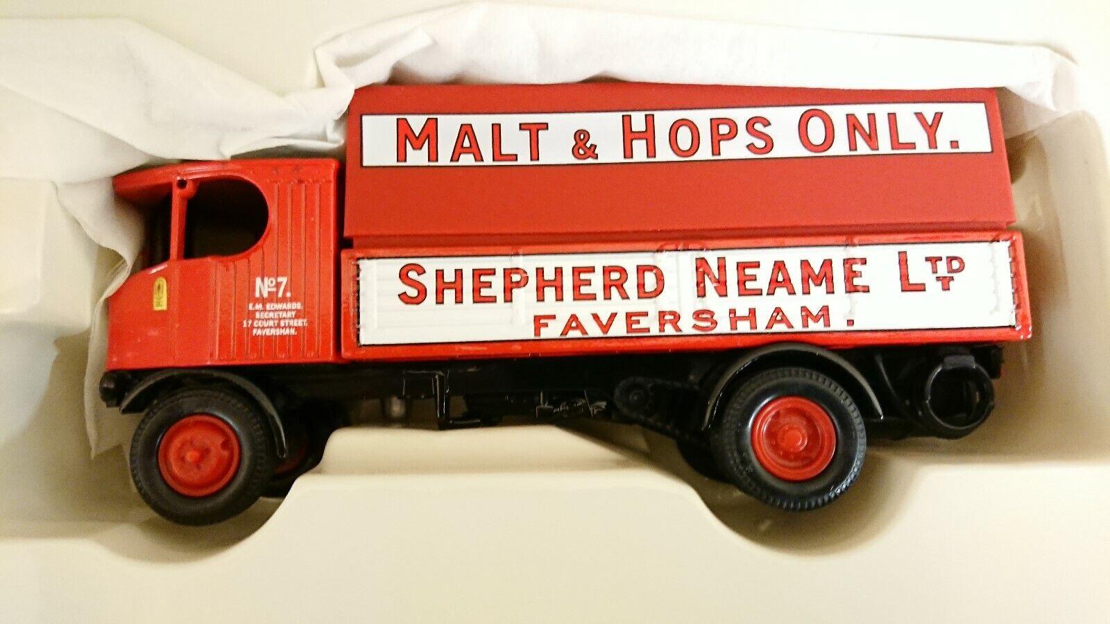 Corgi 80003 Sentinel Steam Wagon Shepherd Neame 300th Anniversary Ltd Edition