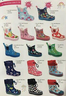 18-30 Beck 847 Piraten Kindergummistiefel Regenstiefel Gr
