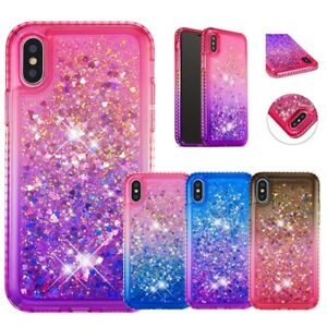 98a87cbb5f Image is loading Sparkle-Girls-Bling-Glitter-Liquid-Quicksand-Case-For-