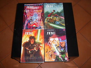 STAR-WARS-LEGENDES-DES-JEDI-4-TOMES-EDITIONS-DARK-HORSES-RARE