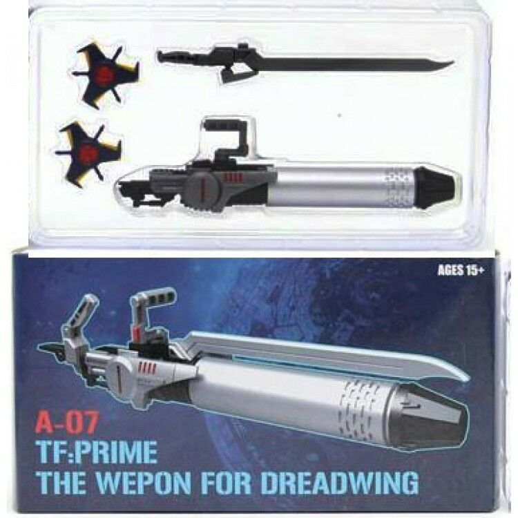 Transformers SXS A-07 Weapon kit for TFP Dreadwing