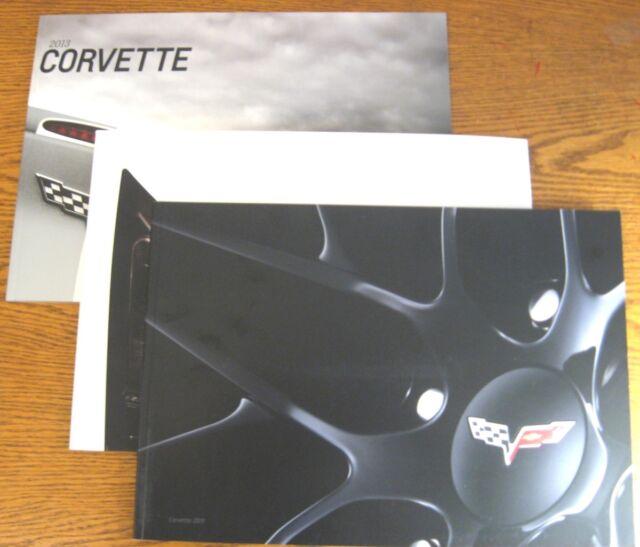 2011 2012 2013 C6 Corvette Prestige Sales Brochure LOT ZR-1 CHEVROLET LS9 ZR1