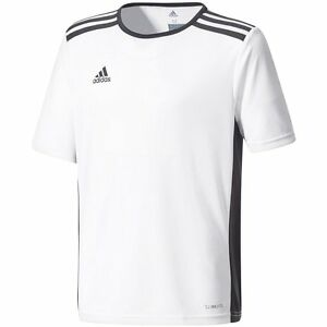 88ccd75559d81 Image is loading Adidas-Entrada-18-Soccer-Jersey-White-Black