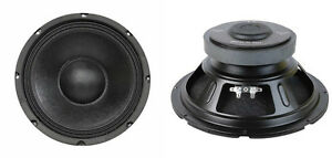 NEW-2-10-034-Woofer-Replacement-Speakers-8ohm-250w-ten-inch-PA-Home-Audio-PAIR