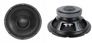 NEU-2-10-034-Woofer-Austausch-Lautsprecher-8ohm-250w-ten-Zoll-PA-Home-Audio-Paar