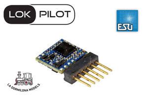 ESU-59817-LokPilot-5-micro-multiprotocolo-DCC-MM-SX-Directo-6-pins-escala-N-TT