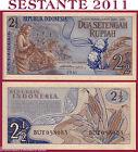 INDONESIA - 2 + 1/2 RUPIAH 1961 - P 79 - FDS / UNC