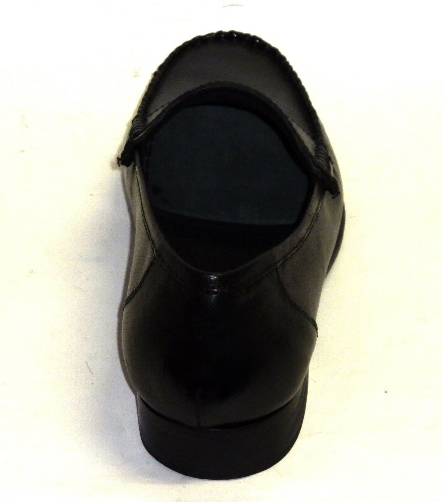 Mokassin Schuhe n.41 elegante Männerschuhe schwarzes Leder n.41 Schuhe 480148