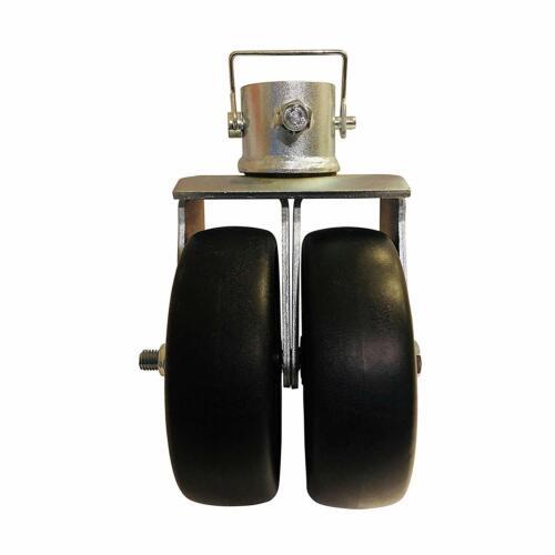 "Professional EZ Travel Collection 6/"" Dual Wheel Trailer Jack Caster"