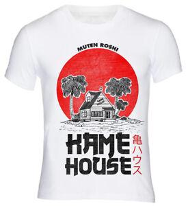 T-Shirt-Muten-Roshi-Kame-House-Dragon-Ball-Kult-Cult-Series-Master-Retro-Vintage