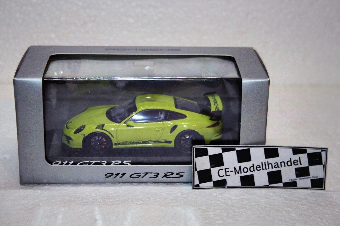 Porsche 911 (991) gt3 rs  2013  NOUVEAU  MINICHAMPS  1 43