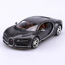 MAISTO 1:24 DISPLAY SPECIAL EDITION BUGATTI CHIRON DIECAST CAR GREY 34514