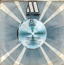 COMMODORES Three Times A Lady / Look What You've Done To Me 45