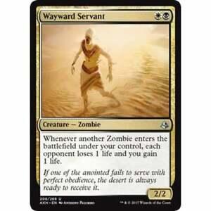 Wayward Servant MTG AMONKHET