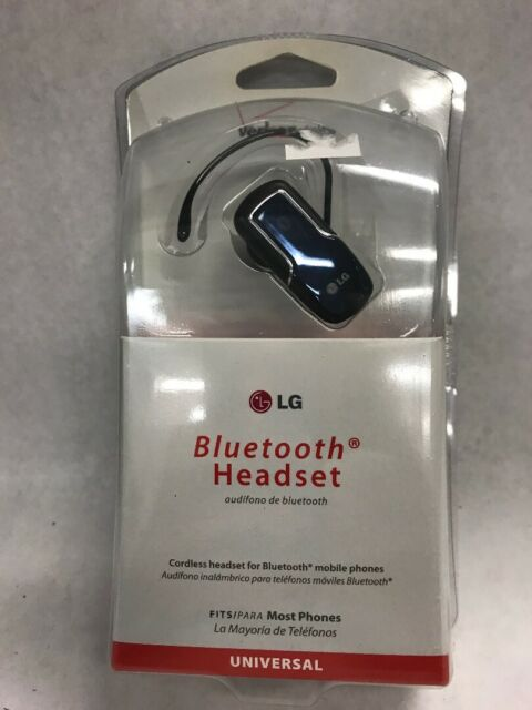 Lg Lbt760z Blue Universal Bluetooth Headset For Mobile Phone Smartphone For Sale Online Ebay