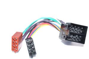 Autoradio-ISO-ISO-Verlaengerung-Kabelpassend-fuer-OPEL-RADIO-STECKER-Buchse