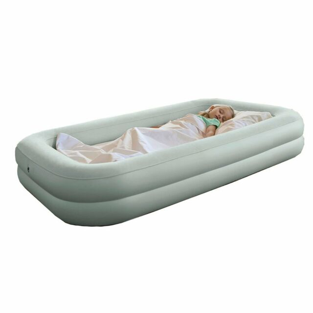 Intex Inflatable Kids Travel Bed Set Airbed Mattress with Pump #66810
