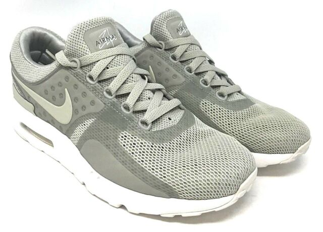 new style 53ce7 496d6 Nike Mens Air Max Zero BR Pale Grey/pale Grey Running Shoe 10 Men US