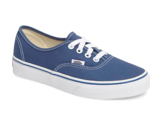 2d319332528 VANS Authentic Men Women Original Classic Shoes All Colors USA Navy ...