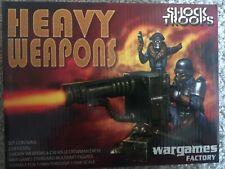 Wargames Factory 6x MORTAR SHELLS SHOCK TROOP HEAVY WEAPONS BITS