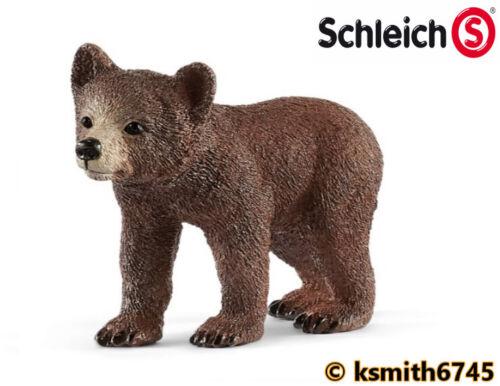 NEW Schleich GRIZZLY BEAR /& CUB SET plastic toy wild zoo animal predator