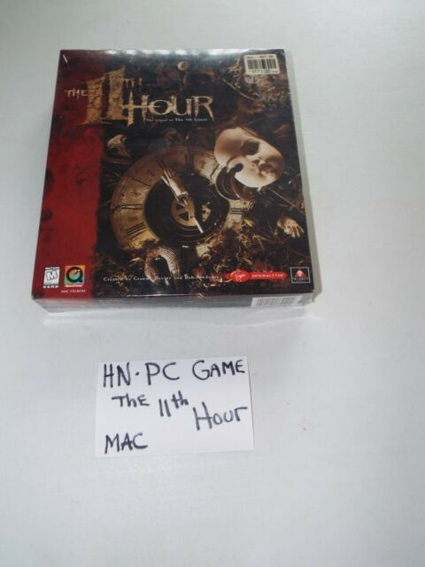 The 11th Hour PC video game - Macintosh