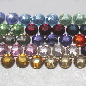 Swarovski 2028/2078 flatback ss16 Crystal Hotfix rhinestone select normal colors