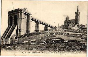 CPA MARSEILLE-Ascenseurs de Notre Dame de la Garde (185901)