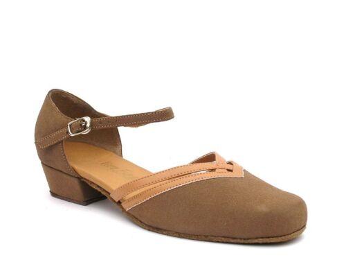 Women/'s West Coast Swing Salsa Ballroom Dance Shoes low Heel 1 Very Fine 8881