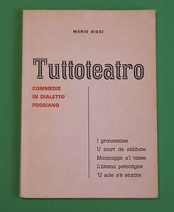 Mario-Ricci-Tuttoteatro-commedie-in-dialetto-foggiano-TEATRO-IN-VERNACOLO