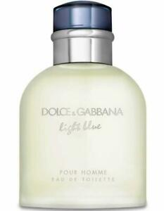 Dolce-amp-Gabbana-Light-Blue-edt-4-2-oz-Cologne-for-men-NEW-tester-with-cap