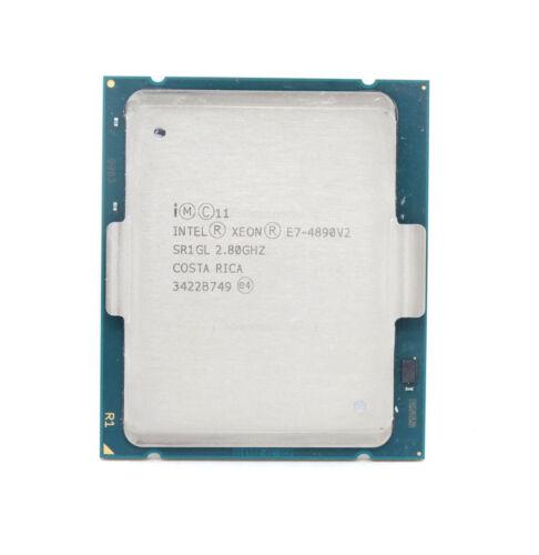 SR1GL Intel Xeon E7-4890V2 15-Core 2.8GHz 37.5MB LGA2011 CPU Processor
