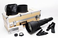 (#3393) Nikon Ai-s ED 800mm f5.6 Lens w/ Trunk Case Excellent++++  from Tokyo