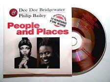 CD SINGLE B.O. FILM ▓ DEE DEE BRIDGEWATER & PHILIP BAILEY : PEOPLE AND PLACES