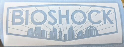 Home Vinyl Decal for Car Ele Detailed Bioshock Inspired Logo with Rapture Sil