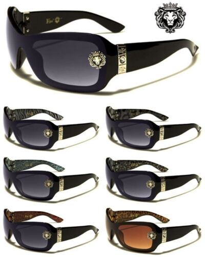 LH5183 Kleo Womens Ladies Animal Print Fashion Stylish Shield Sunglasses