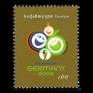 Intelligent Georgia 2005-coupe Du Monde De Football-allemagne 2006-sc 369 Neuf Sans Charnière