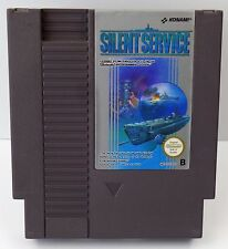 Nintendo NES Spiel - Silent Service - PAL B NES-IV-EEC